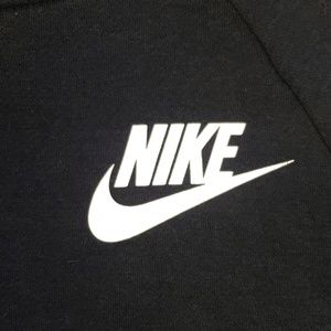 Nike Tops - Nike Funnel Neck Hooded Sweatshirt